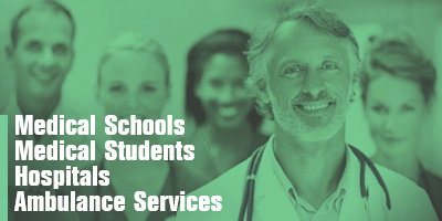 Medical Schools  Medical Students  Hospitals  Ambulance Services